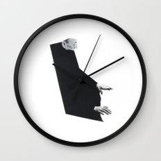 Figure Study - Him Wall Clock
