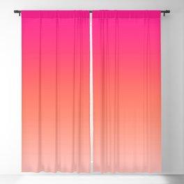 Gradient Ombre Living Coral Millennial Plastic Pink Pattern Peachy Orange Soft Trendy Cute Texture Blackout Curtain