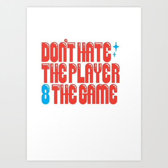 Don't 8 Art Print