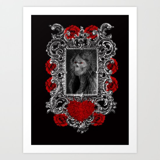 Ghost of you Art Print