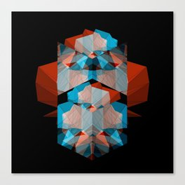 Geometric Cubes Canvas Print