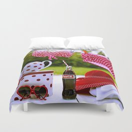 Coca Cola Summer Duvet Cover