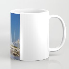 Albert Bridge on the Thames in London Coffee Mug