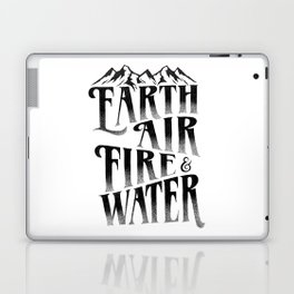 THE FOUR ELEMENTS Laptop & iPad Skin