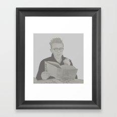 D E A N Framed Art Print
