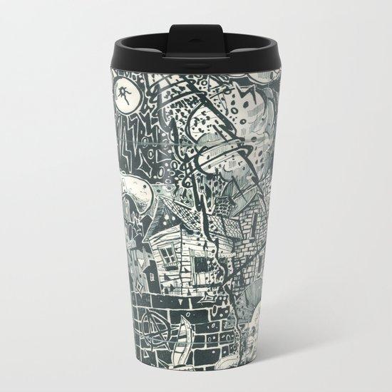 N.A.S.A. Control Metal Travel Mug