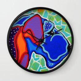 Terrier Dog Kerry Blue Airedale Sealyham Soft Coated Wheaten Lakeland Cesky Jackie Carpenter Norfolk Wall Clock