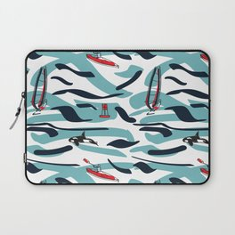 A Day on the Water Laptop Sleeve