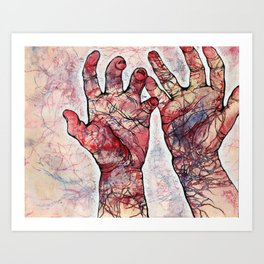 Impulses Art Print
