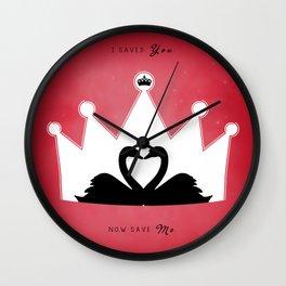 SWANQUEEN #2 Wall Clock
