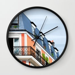 Apartments Wall Clock