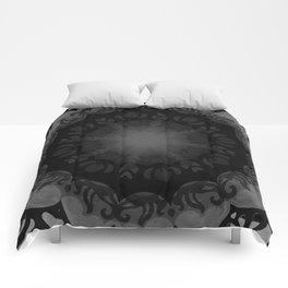 Dark Mandala #1 Comforters