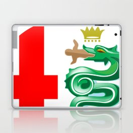 Alfa Romeo logo interpretation! Laptop & iPad Skin