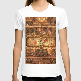 Midnight with Botticelli, Raphael, Michelangelo, & Perugino, Sistine Chapel, Rome T-shirt