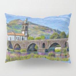 Sao Antonio, Ponte de Lima, Portugal Pillow Sham