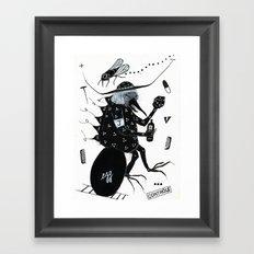 L'Oeuf de Jacques Framed Art Print