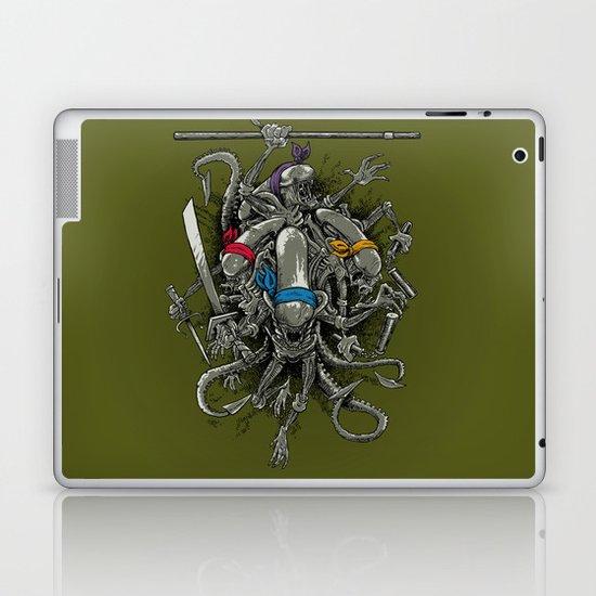 Ancient Ninja Xenomorphs Laptop & iPad Skin