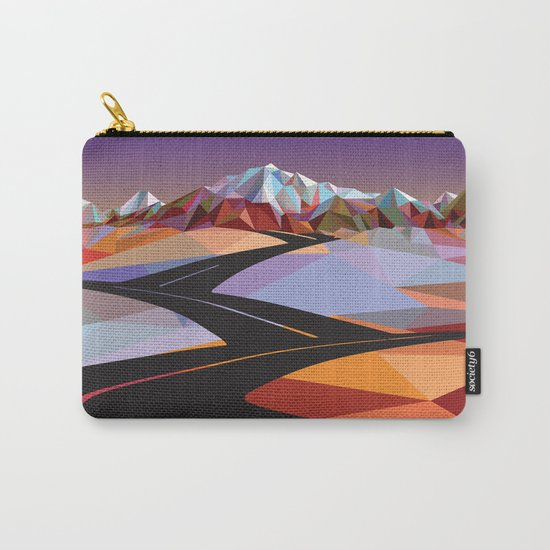 Night Mountains No. 42 Carry-All Pouch