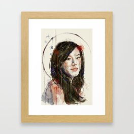 Bev Framed Art Print