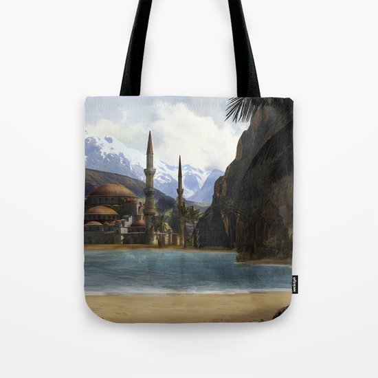 Hidden in the Mountains Tote Bag