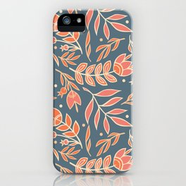 Loquacious Floral iPhone Case