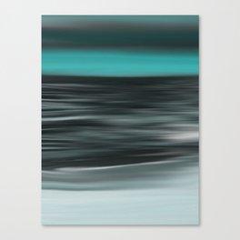 Ocean Calm Abstract Seascape Canvas Print