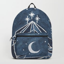 Night Court moon and stars Backpack
