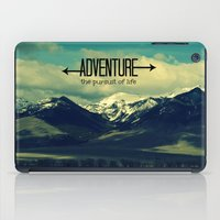 adventure iPad Cases featuring Adventure by RDelean