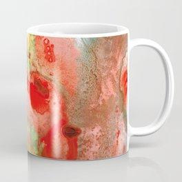Om - Red Meditation - Abstract Art By Sharon Cummings Coffee Mug