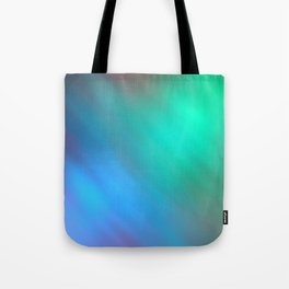 Mystic - Green and Blue Tote Bag