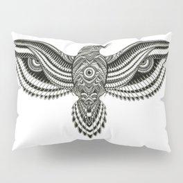 Flying Crow Pillow Sham