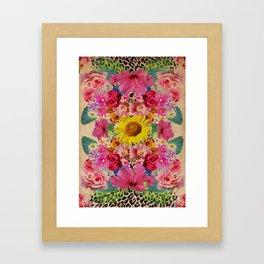 VINTAGE SPRING Framed Art Print