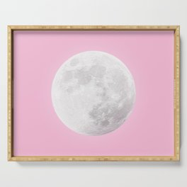 WHITE MOON + PINK SKY Serving Tray