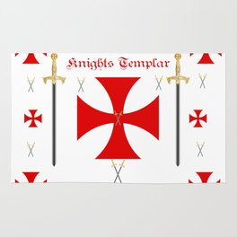 Knights Templar Rug