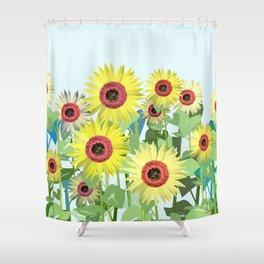 A sunny day lb. Shower Curtain