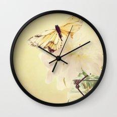 PASTEL PEONY Wall Clock