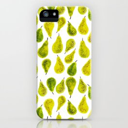 Poires iPhone Case