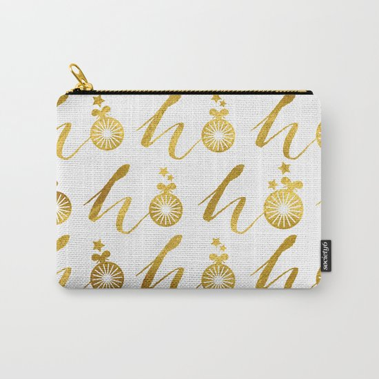 Gold Christmas 07 Carry-All Pouch