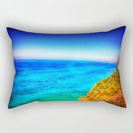 Caba Beach Rectangular Pillow