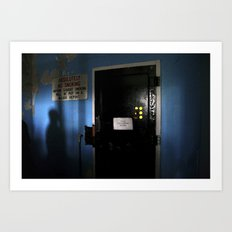 The Changing Room Art Print