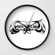 Moose Blood Wall Clock