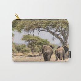 Elephants Carry-All Pouch