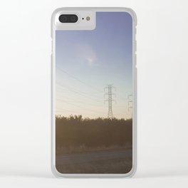 Interstate-5 I Clear iPhone Case