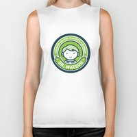 john green Biker Tanks featuring Cute John Watson - Green by mydeardear