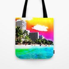 Waikiki Beach Part II Tote Bag