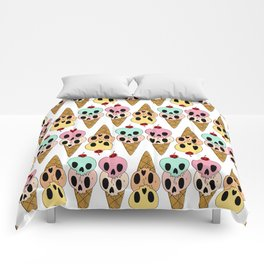 Skull Ice Cream Comforters
