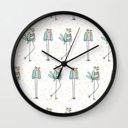 The Bird Walk Wall Clock