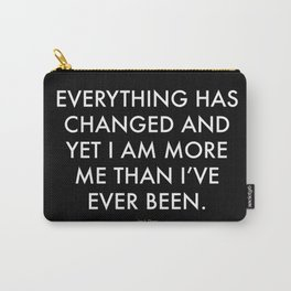 """""""Everything"""" Text Carry-All Pouch"""