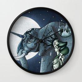Emerald's Migration Wall Clock