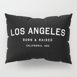 Los Angeles - CA, USA (Black Arc) Pillow Sham